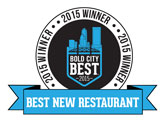 Best New Restaurant
